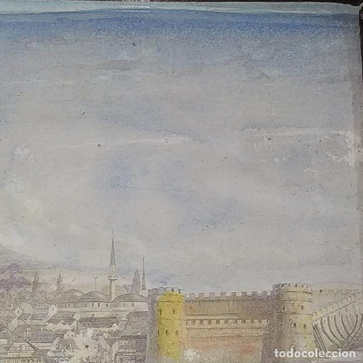 Antigüedades: 2 MARCOS ISABELINOS. MADERA CON INCRUSTACIONES EN METAL Y MADERA. ESPAÑA. SIGLO XIX - Foto 3 - 224319253