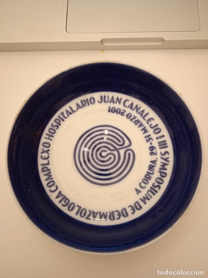 PLATO 12 CM SARGADELOS HOSTIPALARIO JUAN CANALEJO 2001 (Antigüedades - Porcelanas y Cerámicas - Sargadelos)