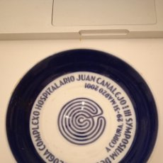Oggetti Antichi: PLATO 12 CM SARGADELOS HOSTIPALARIO JUAN CANALEJO 2001. Lote 224404047