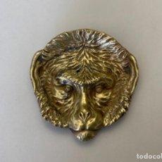 Antigüedades: PEQUEÑA BANDEJA FUNDICIÓN BRONCE (S.XIX-XX). Lote 224447961