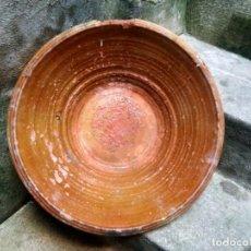 Antigüedades: ANTIQUÍSIMO Y ENORME LEBRILLO VIDRIADO DE ÚBEDA Ó BAILÉN ( JAÉN ) LAÑADO DE ÉPOCA - CON MUCHO SABOR. Lote 224455195