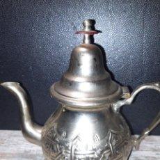 Antigüedades: TETERA DE ACERO INOX. Lote 224481278