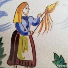 Antigüedades: AZULEJOS ARTISTICOS. Lote 224493313