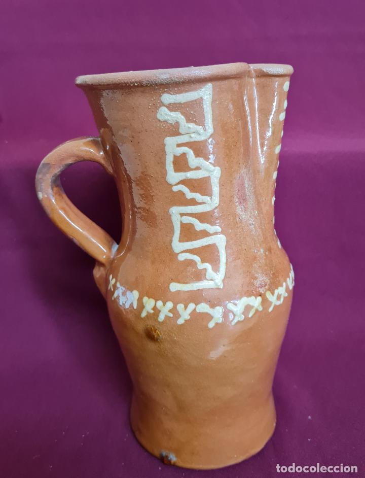 Antigüedades: MAGNIFICO JARRO DE AGUA O VINO EN CERAMICA DE UBEDA,(JAEN),S. XIX-XX - Foto 3 - 224506448