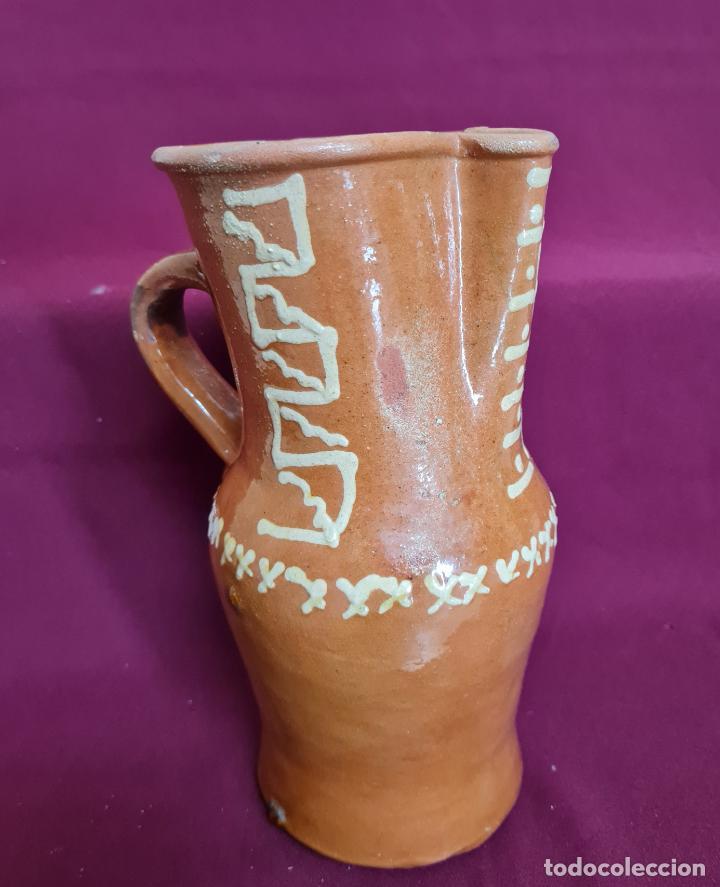 Antigüedades: MAGNIFICO JARRO DE AGUA O VINO EN CERAMICA DE UBEDA,(JAEN),S. XIX-XX - Foto 6 - 224506448