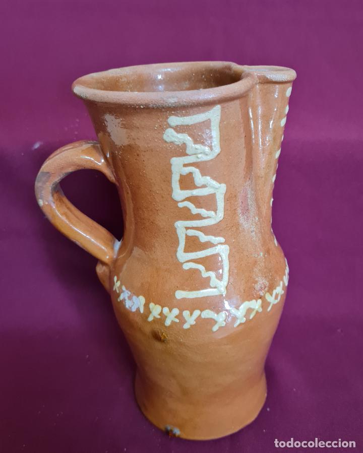 Antigüedades: MAGNIFICO JARRO DE AGUA O VINO EN CERAMICA DE UBEDA,(JAEN),S. XIX-XX - Foto 10 - 224506448
