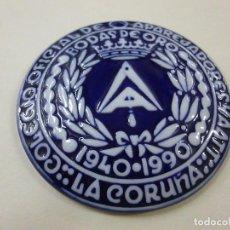 Antigüedades: MEDALLA DE SARGADELOS COLEGIO OFICIAL DE APAREJADORES -NODAS DE ORO - N. Lote 224508905