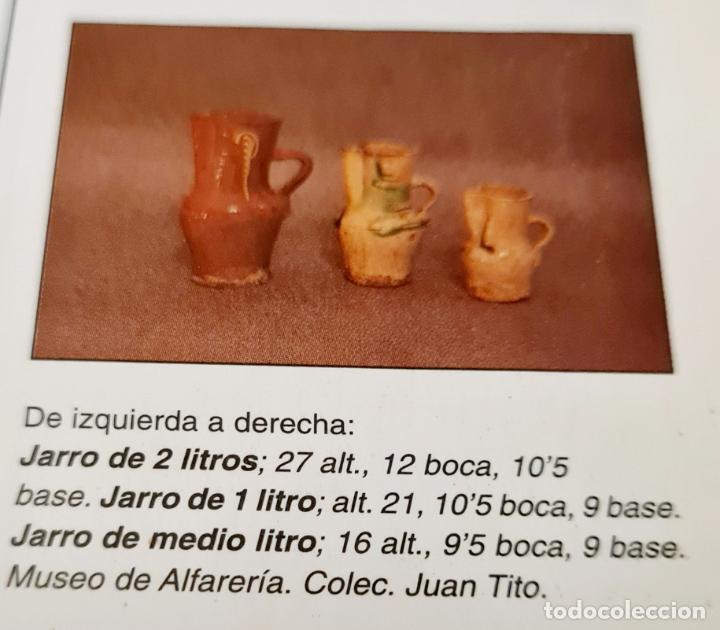 Antigüedades: MAGNIFICO JARRO DE AGUA O VINO EN CERAMICA DE UBEDA,(JAEN),S. XIX-XX - Foto 11 - 224506448