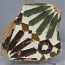 Antiguidades: AZULEJO DE ARISTA. TOLEDO. SIGLO XVI. Lote 224520462