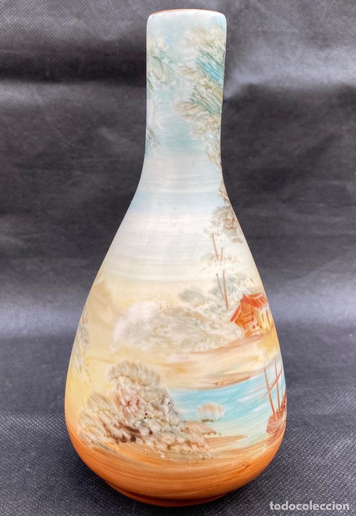 Antigüedades: RAMGI. Jarrón cerámica de Manises Ramgi - Foto 4 - 224550641