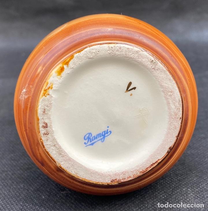 Antigüedades: RAMGI. Jarrón cerámica de Manises Ramgi - Foto 6 - 224550641
