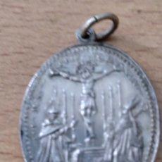 Antigüedades: MEDALLA ANTIGUA DE NUESTRA SEÑORA DE.LOS.DOLORES.. Lote 224575758