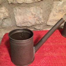 Antigüedades: ANTIGUO BOTE DE LATA / MAQUINA PARA SULFATAR DE LOS AÑOS 20-30. Lote 224580243