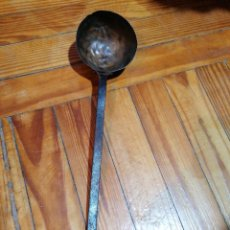 Antigüedades: CUCHARÓN DE COBRE. Lote 224641558