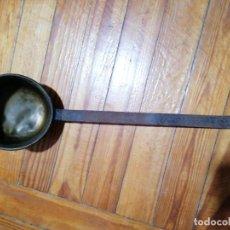 Antigüedades: CAZO DE LATÓN. Lote 224642357