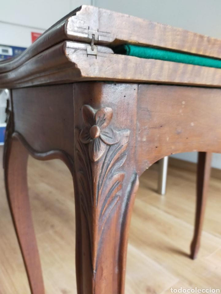 Antigüedades: Consola convertible en juego de mesa - Foto 8 - 224705913