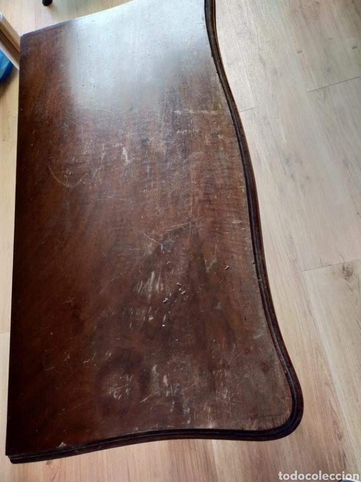 Antigüedades: Consola convertible en juego de mesa - Foto 9 - 224705913