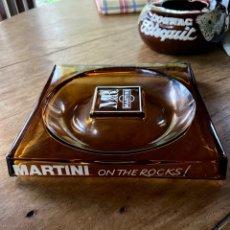 Antigüedades: CENICERO MARTINI ON THE ROCKS!. Lote 224707960