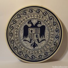 Antigüedades: PLATO MUY ANTIGUO CERÁMICA TALAVERA O MANISES. Lote 224741551