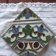 Antigüedades: AZULEJO TOLEDO SIGLO XVI. Lote 224781575