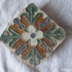 Antigüedades: AZULEJO TOLEDO SIGLO XVI. Lote 224782222