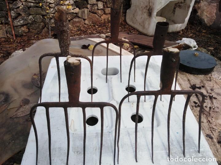 HORCAS DE HIERRO (Antigüedades - Técnicas - Rústicas - Ganadería)