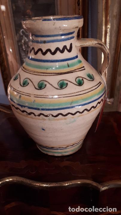 ALCUZA DE PUENTE DEL ARZOBISPO. (Antigüedades - Porcelanas y Cerámicas - Puente del Arzobispo )