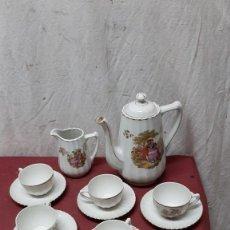 Antigüedades: JUEGO CAFE SANTA CLARA. VIGO. Lote 224789600