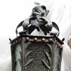Antigüedades: ANTIGUA LÁMPARA FAROL.. Lote 224831002