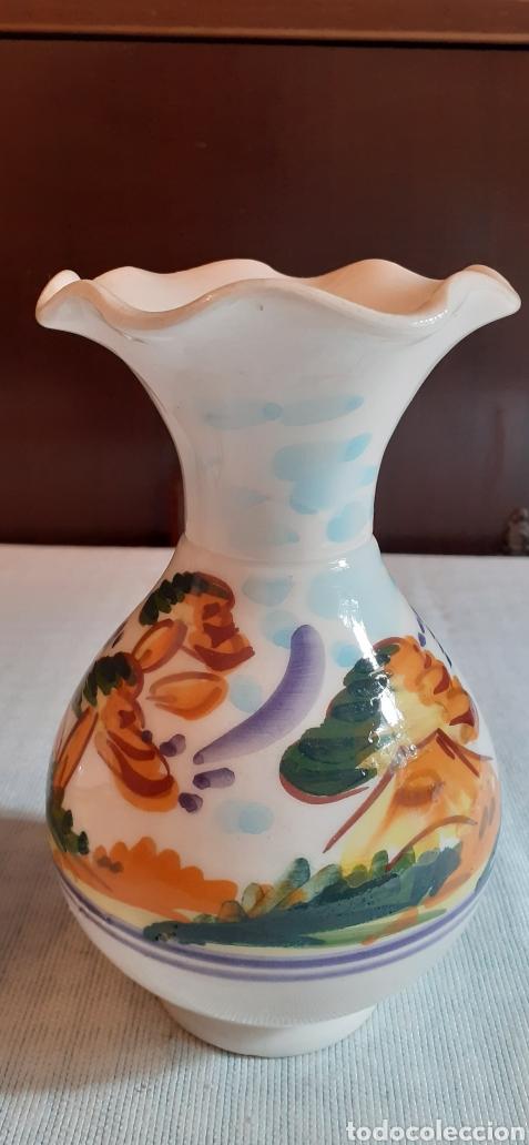 Antigüedades: Pareja de jarrones , 16 cm , Triana - Foto 3 - 224860320