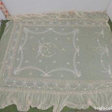 Antigüedades: ANTIGUA COLCHA CUBRECAMA MARAVILLOSO OBJETO DE DECORACION. Lote 224883755