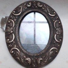 Antigüedades: MARCO DE PORTA RETRATOS DE BRONCE FUNDIDO. Lote 224894217