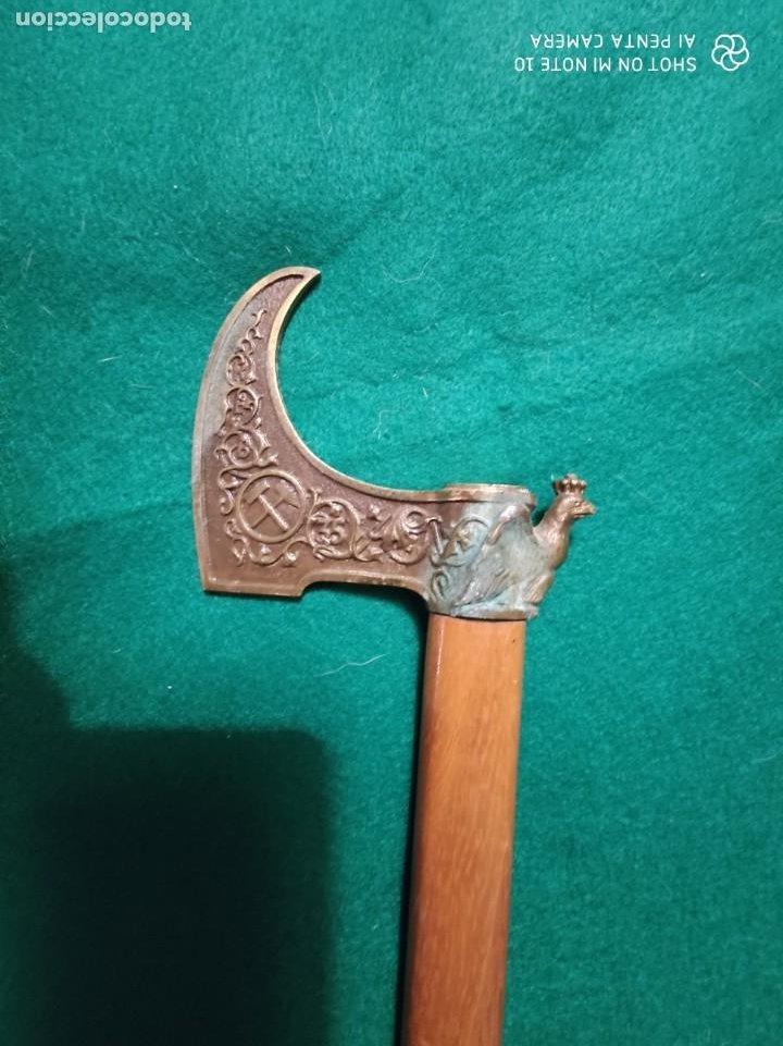 Antigüedades: ANTIGUO BASTON DE MINERO ORIGINAL SIGLO XIX 100 CM DE LONGITUD 115 EUROS - Foto 4 - 224894683