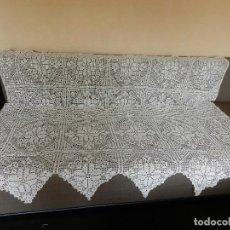 Antigüedades: MAGNIFICA COLCHA CUBRECAMA MARAVILLOSO OBJETO DE DECORACION. Lote 224896397