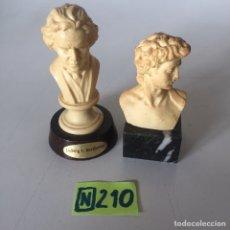 Antigüedades: FIGURAS DE RESINA ANTIGUAS. Lote 224919201