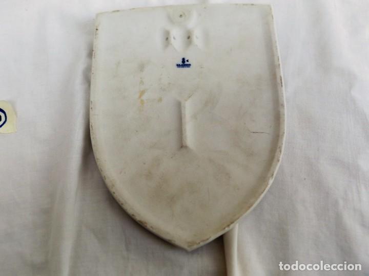 Antigüedades: escudo de cerámica club de tenis valencia - Foto 2 - 224925131