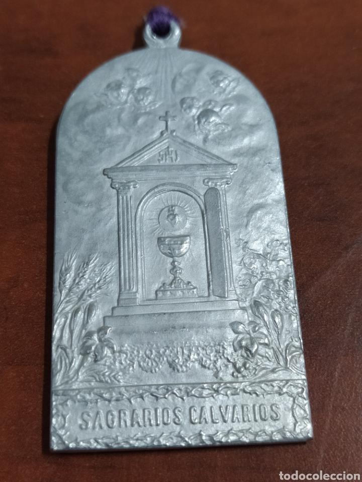 Antigüedades: Medalla antigua firmada B. Maura. - Foto 3 - 224937232