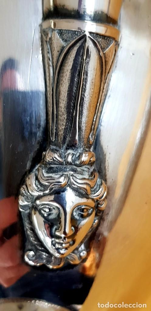 Antigüedades: PLATA 950/1000,1.600g PUNZONADA 6 VECES 1800-1820. AGUAMANIL(AIGUIÈRE)ORIGEN IMPERIAL RUSO!!!!!43 CM - Foto 7 - 224994777