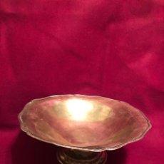 Antigüedades: ANTIGUO FRUTERO DE PLATA DE LEY. INSCRITO 916 R. TORRES 916. VALENCIA. CIRCA 1890. 200 GR. 21,5X9 CM. Lote 225002036