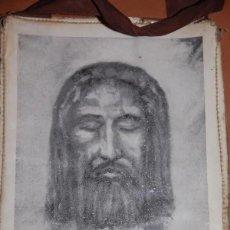 Antigüedades: ESCAPULARIO DEL SIGLO XX SANTA FAZ IGLESIA PALMARIANA AÑOS 70. Lote 225070485