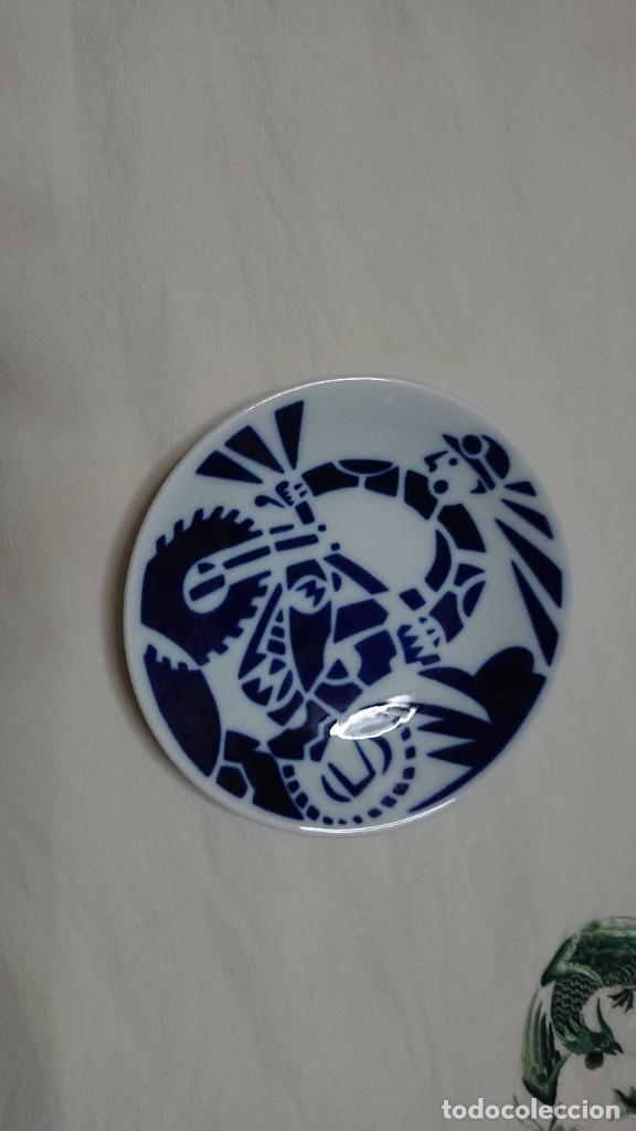 PLATITO SARGADELOS 12 CM (Antigüedades - Porcelanas y Cerámicas - Sargadelos)