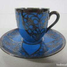 Antiquités: BONITA TAZA DE CAFÉ CON PLATO - PORCELANA ROSENTHAL, SELB BAVARIA. Lote 225141750