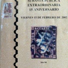 Antigüedades: SUBASTA 15 ANIVERSARIO. Lote 225143897
