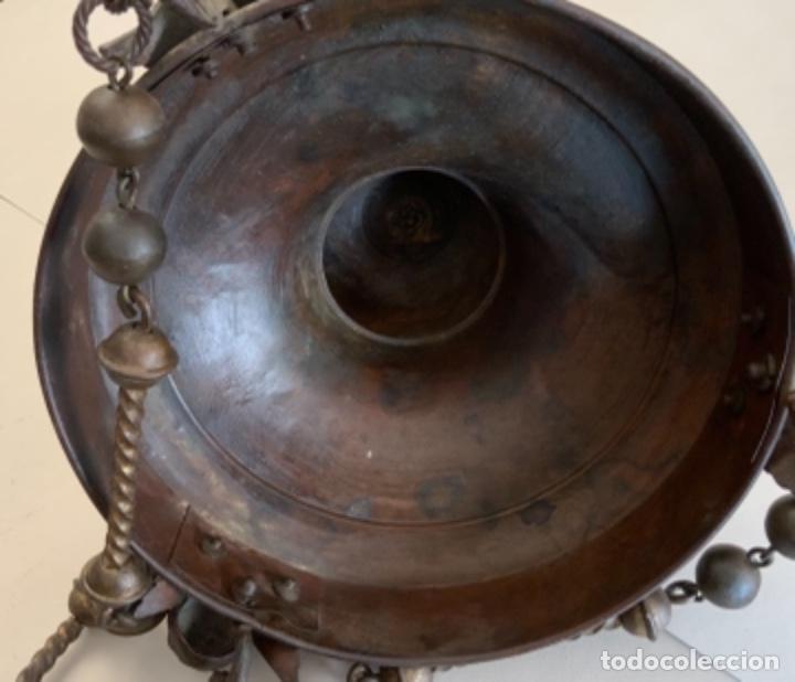 Antigüedades: LÁMPARA VOTIVA (s.XIX) - Foto 15 - 225147365