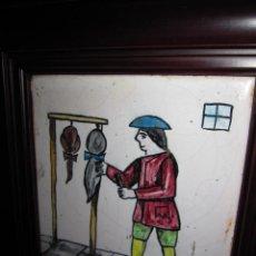 Antigüedades: ANTIGUO AZULEJO DE OFICIOS. Lote 225174761