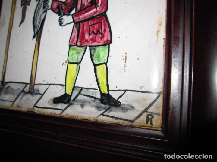 Antigüedades: Antiguo Azulejo de oficios - Foto 5 - 225174761
