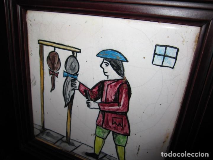 Antigüedades: Antiguo Azulejo de oficios - Foto 7 - 225174761