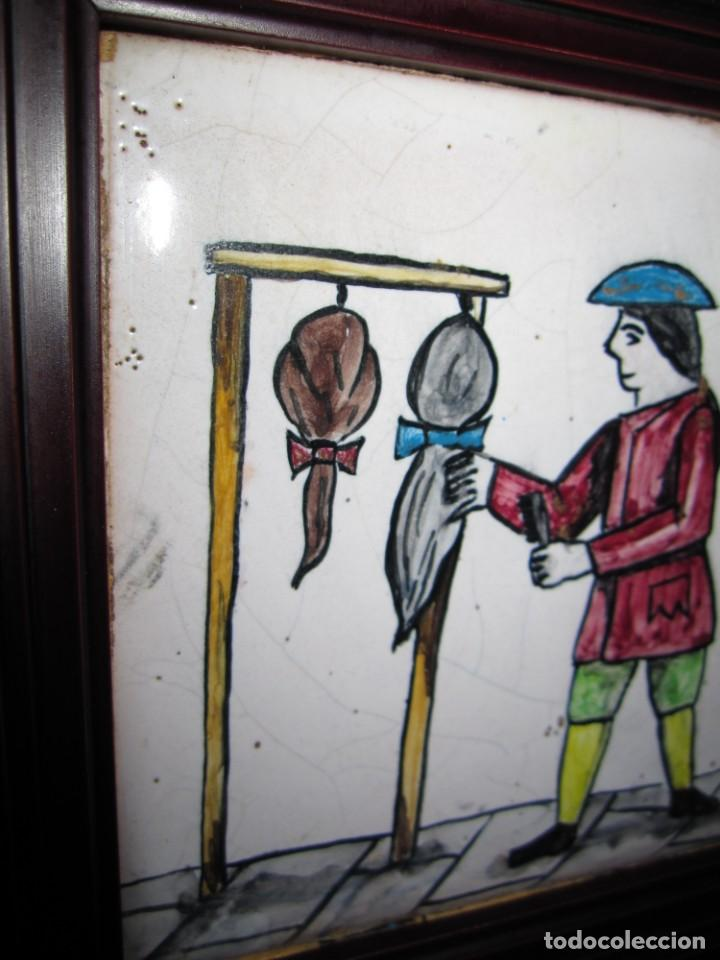 Antigüedades: Antiguo Azulejo de oficios - Foto 9 - 225174761