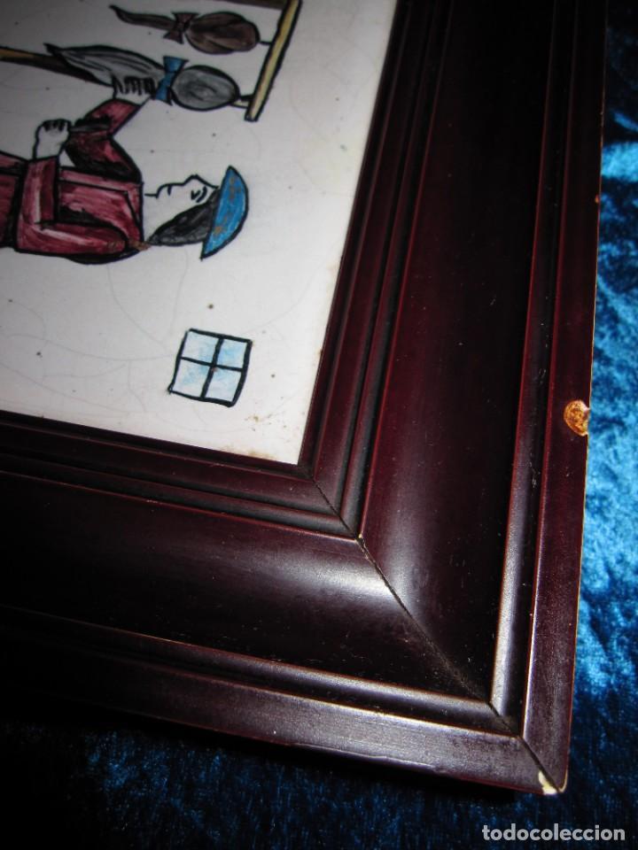 Antigüedades: Antiguo Azulejo de oficios - Foto 16 - 225174761