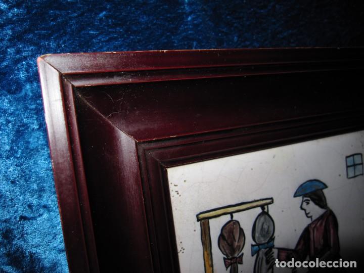Antigüedades: Antiguo Azulejo de oficios - Foto 17 - 225174761